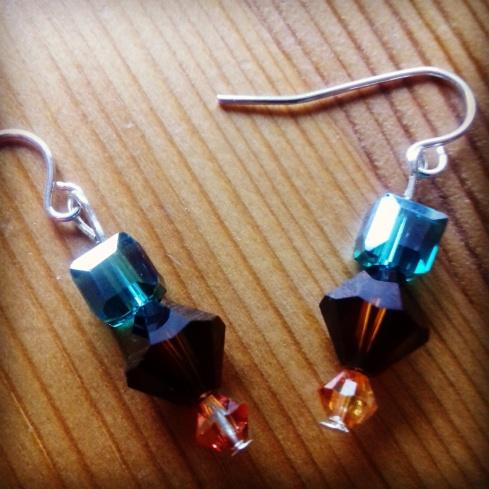 Crystal earrings £10